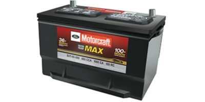 Coupon for Motorcraft  Tested Tough Max Batteries Starting at $129.95
