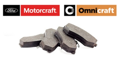 Coupon for Motorcraft or Omni Brake Pads Installed $99.95 or Less
