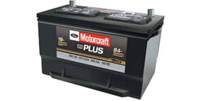 Coupon for Motorcraft Tested Tough Plus Batteries $99.95 MSRP
