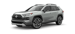 new 2019 toyota rav4 advantenture trim level in grey