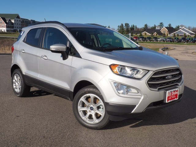 Lease this 2019, Silver, Ford, EcoSport, SE
