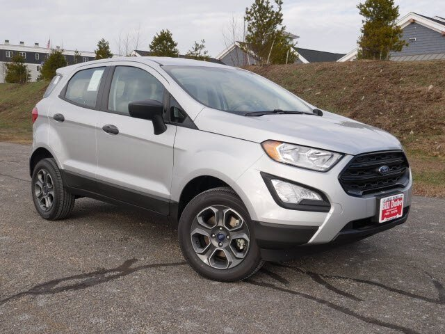 Lease this 2020, Silver, Ford, EcoSport, S