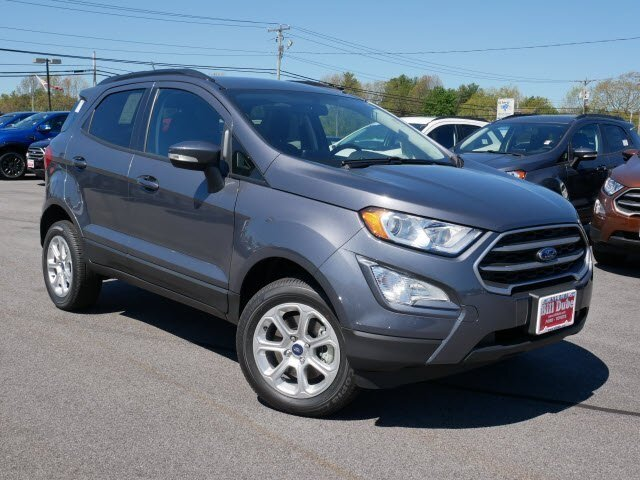 Lease this 2020, Silver, Ford, EcoSport, SE