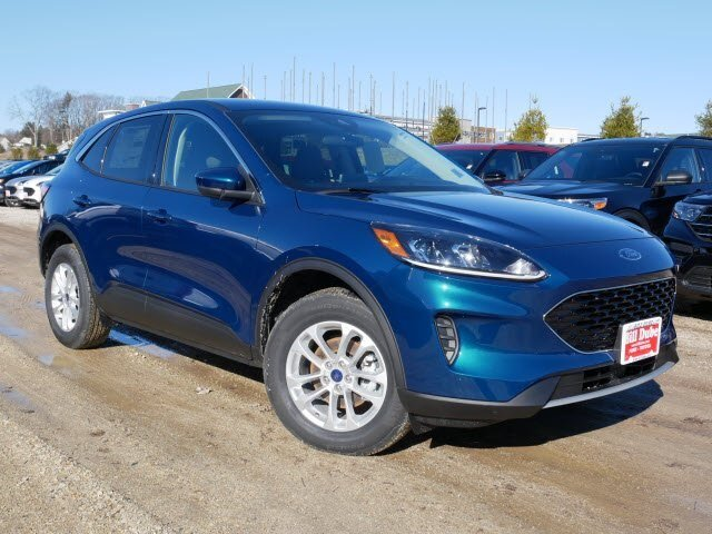 Lease this 2020, Green, Ford, Escape, SE