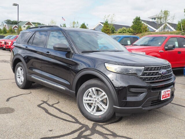 Lease this 2020, Black, Ford, Explorer, XLT