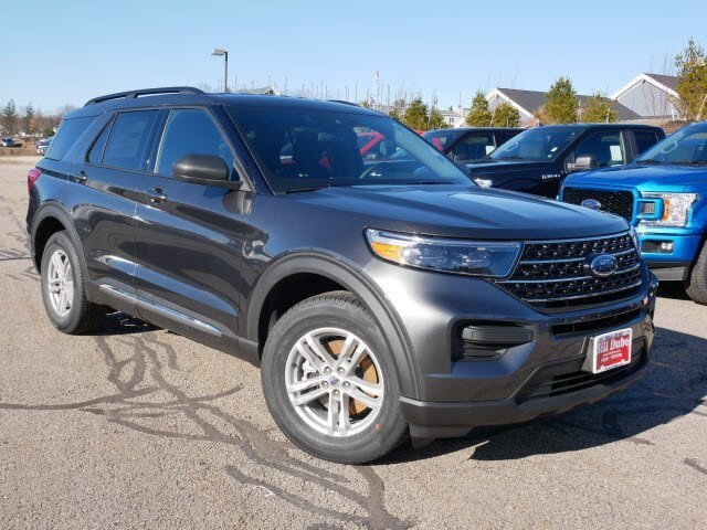 Lease this 2020, Gray, Ford, Explorer, XLT