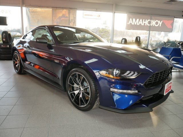 Lease this 2020, Blue, Ford, Mustang, EcoBoost
