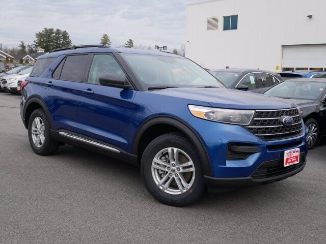 Lease this 2021, Blue, Ford, Explorer, XLT