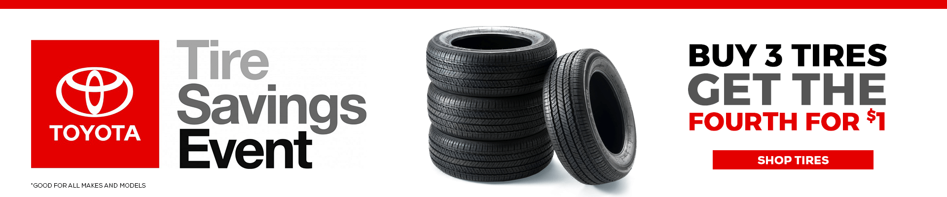 Check out our tire specials