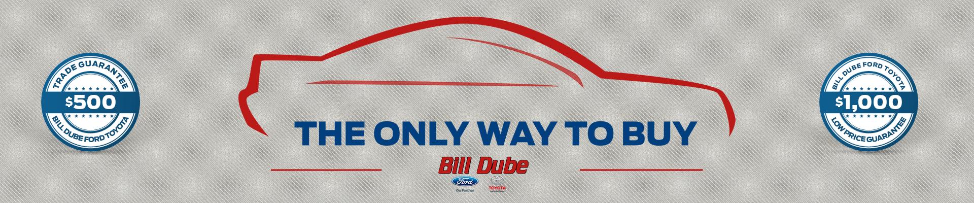 trade guarantee at bill dube
