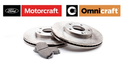 Coupon for Motorcraft or Omnicraft Complete Brake Service $179.95 or Less