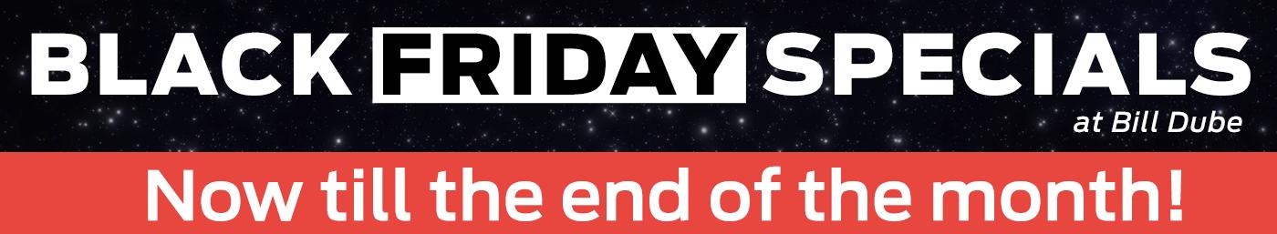 Black Friday Savings