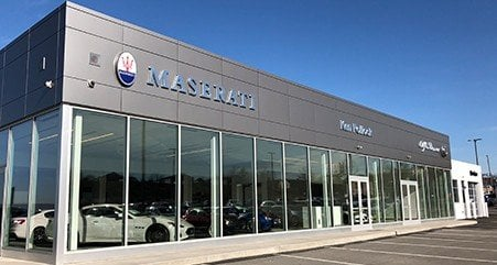 Ken Pollock Maserati Alfa Romeo dealership picture