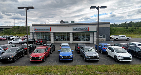 Ken Pollock Mitsubishi dealership picture