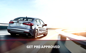 Get pre-approved today for a new Kia
