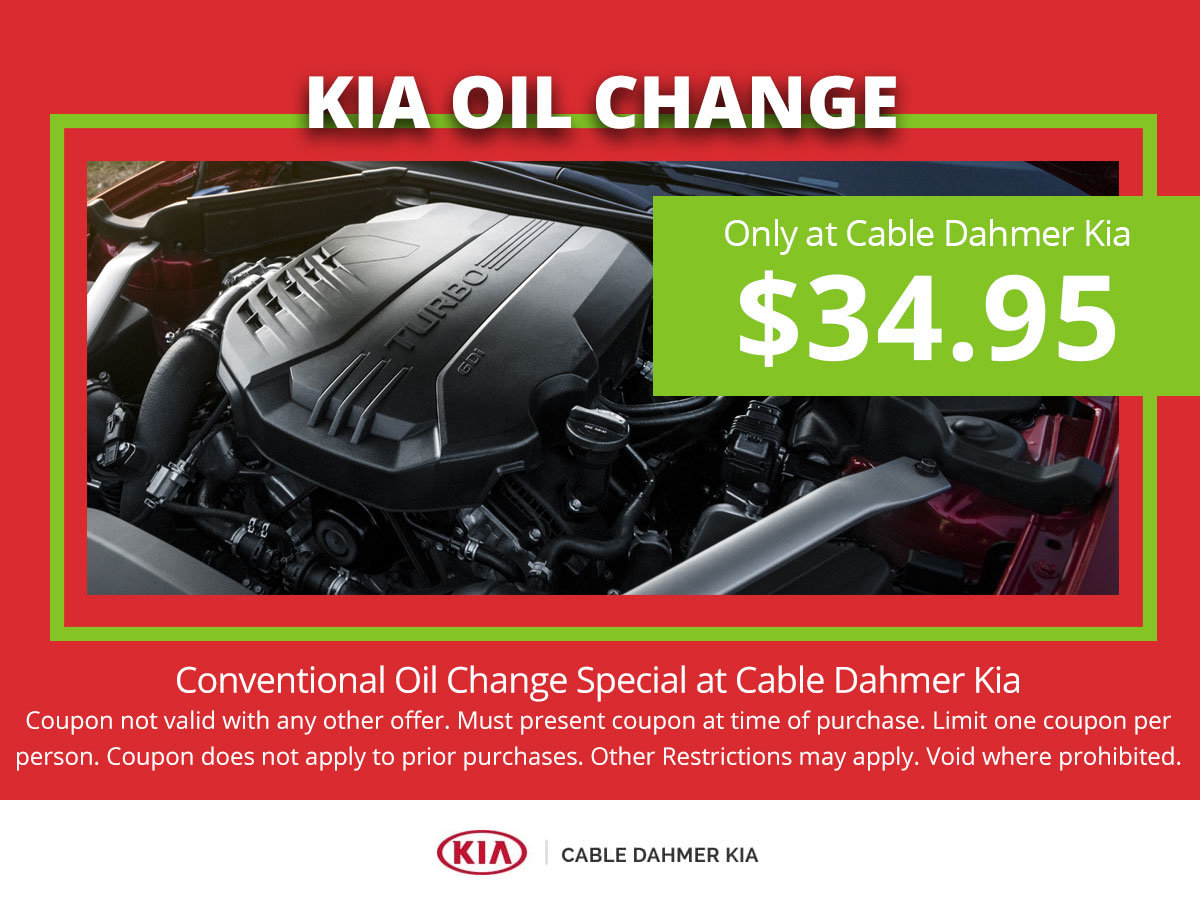 Oil Change Special (Kia location only)