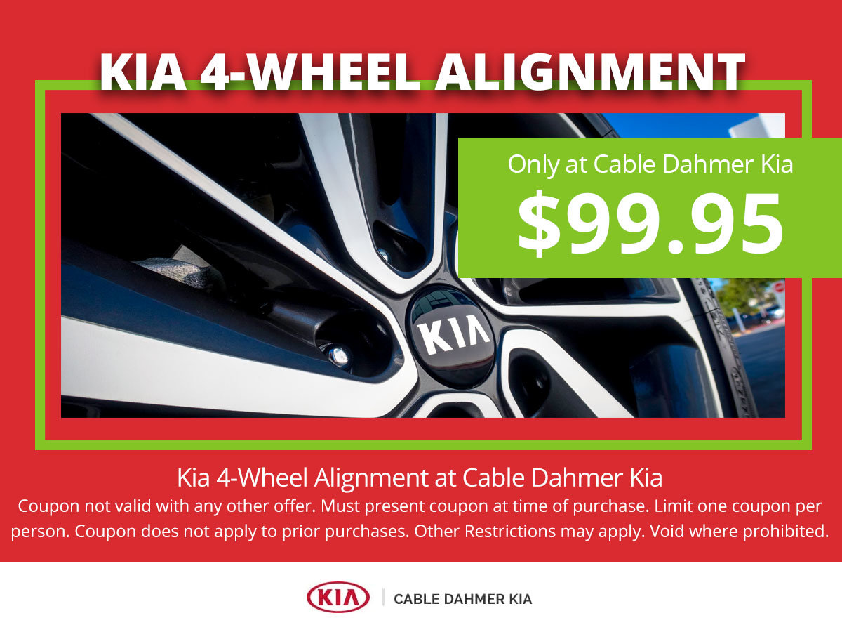 Coupon for 4-Wheel Alignment (Kia Location Only)