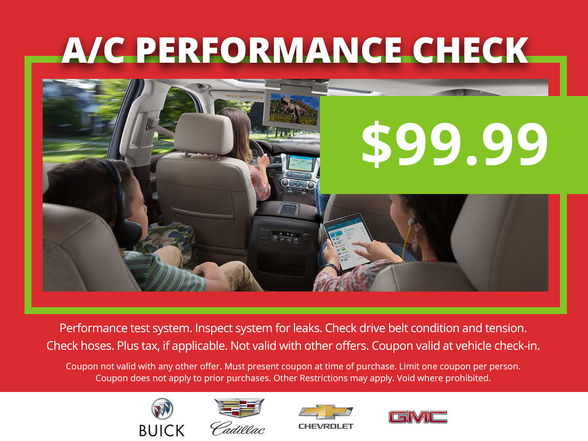 Coupon for Air Conditioning Performance Check