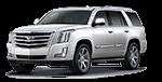 New white Cadillac Escalade in Kansas City MO at Cable Dahmer Cadillac of Kansas City.