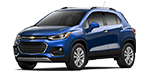 New blue Chevy Trax for sale at Cable Dahmer of Kansas City.
