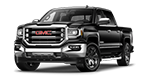 New black GMC Sierra 1500 on display at Cable Dahmer Buick GMC in Independence, MO.