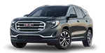New silver GMC Terrain for sale here at Cable Dahmer Buick GMC in Kansas City, MO.