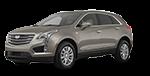 New beige Cadillac XT5 in Kansas City MO at Cable Dahmer Cadillac in Kansas City.