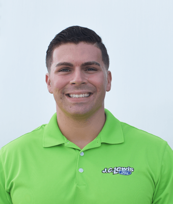 Finance Manager Justin Mastronardi in Finance at J.C. Lewis Ford Hinesville