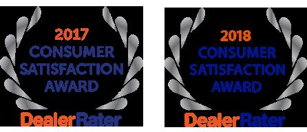 2018 consumer satisfaction award