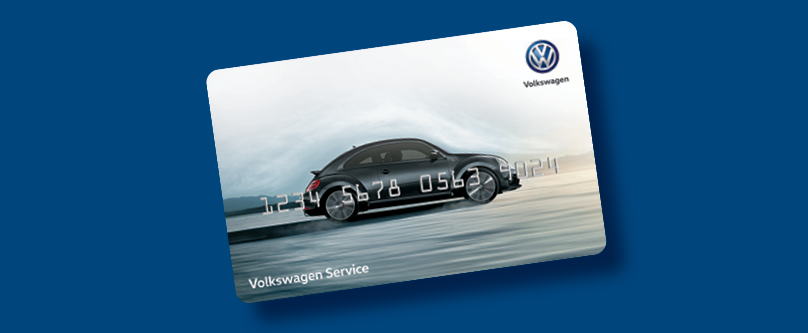 Coupon for VW Service Credit Card