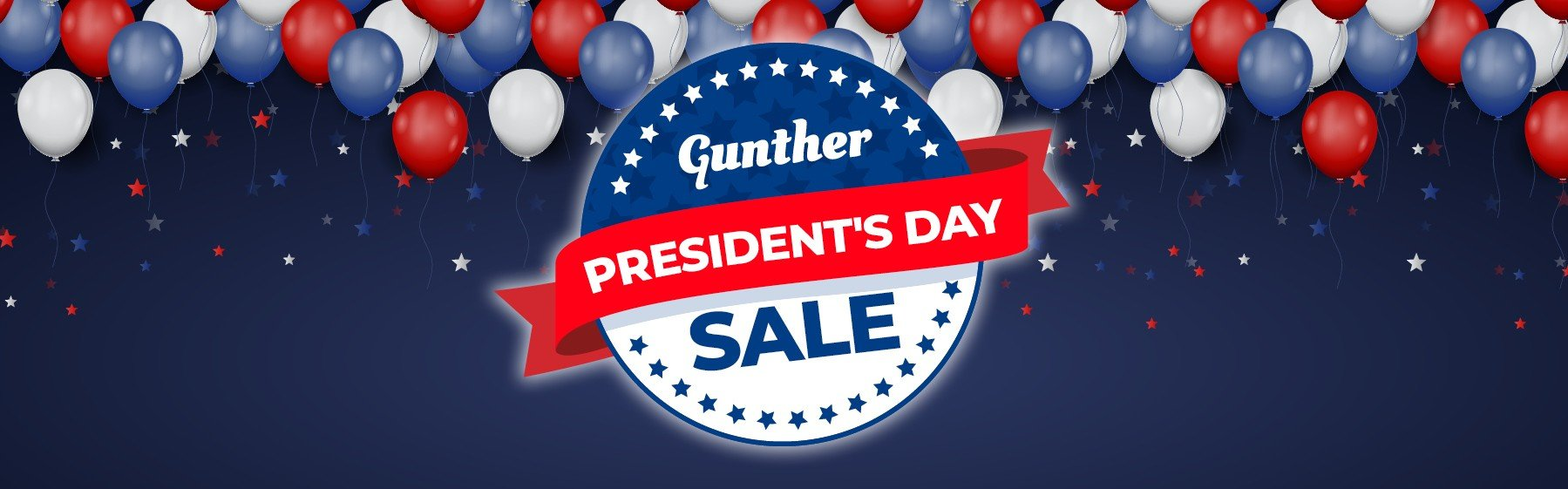 Gunther President's Day Sale