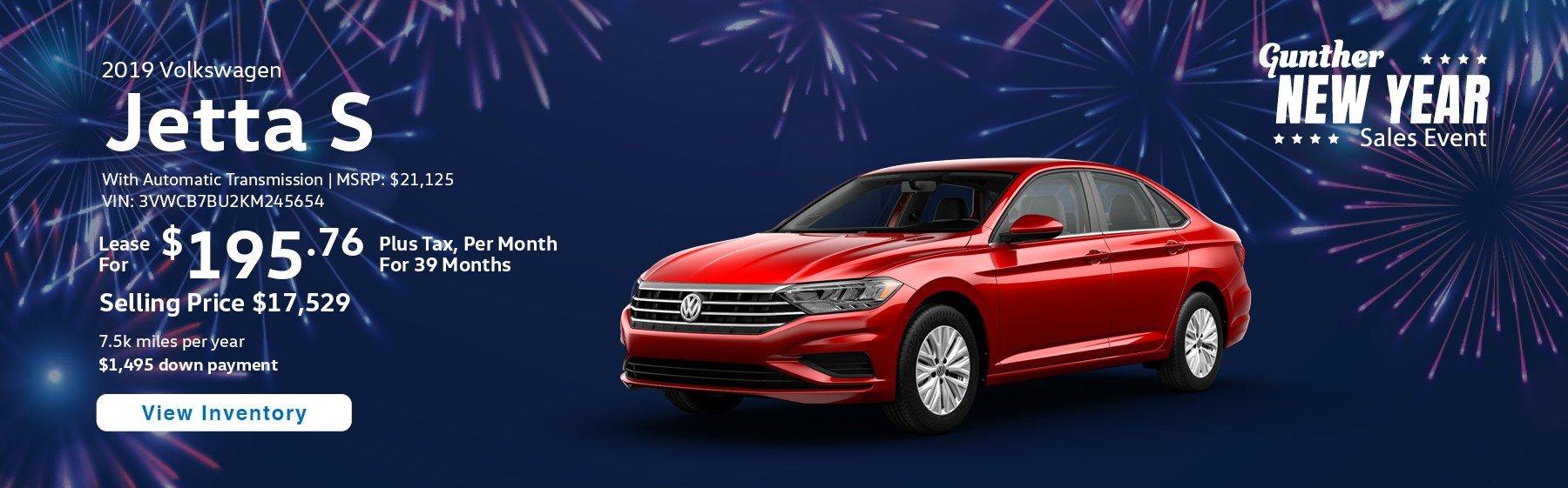 Volkswagen Lease Specials >> Volkswagen Lease Deals In South Florida Gunther Vw Delray