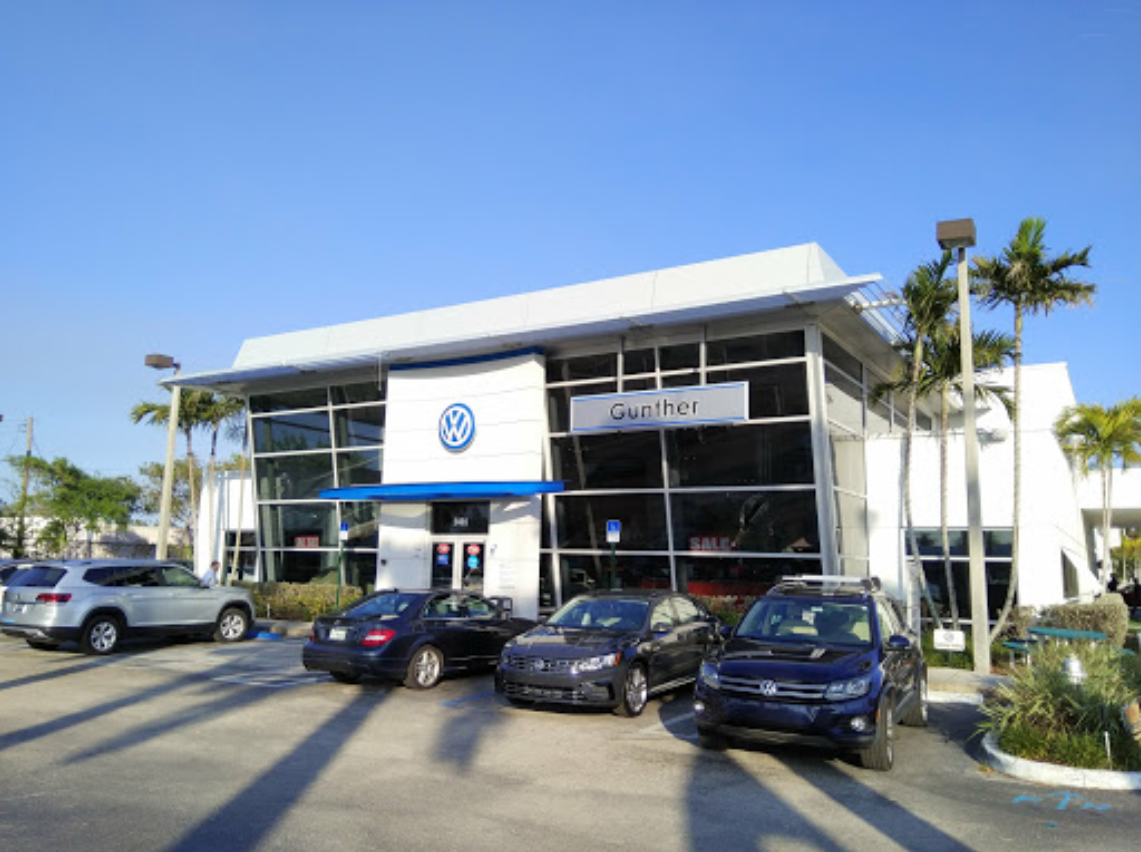 Ways to contact Gunther Volkswagen in Delray Beach FL today
