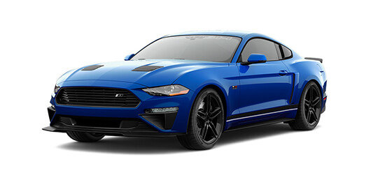 2019 blue ford ROUSH stage 1 mustang