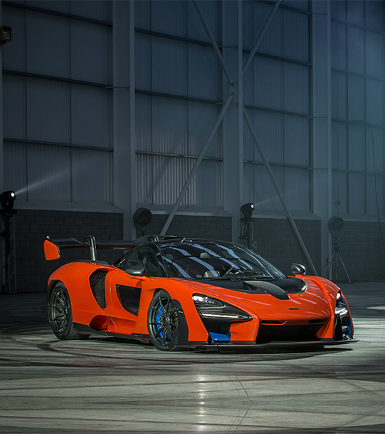 New orange McLaren Senna