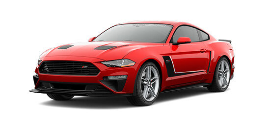 2019 red ford ROUSH stage 3 mustang on long island