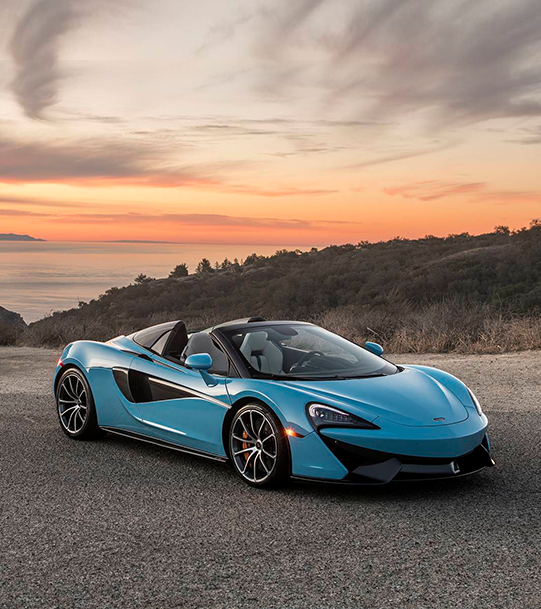 Light Blue McLaren 675LT