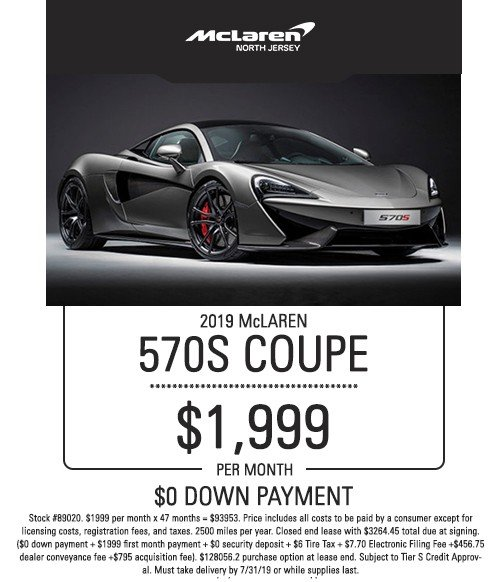 mclaren 570s coupe special