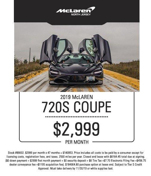mclaren 720s coupe special