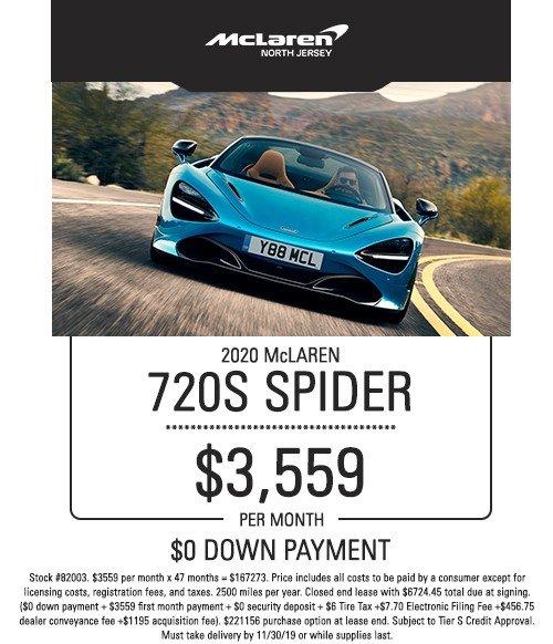 mclaren 720s spider special