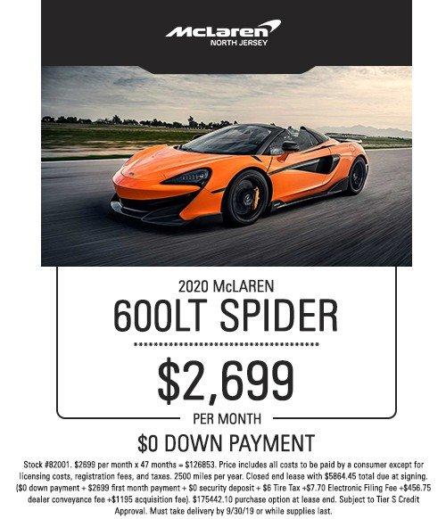 mclaren 600lt special