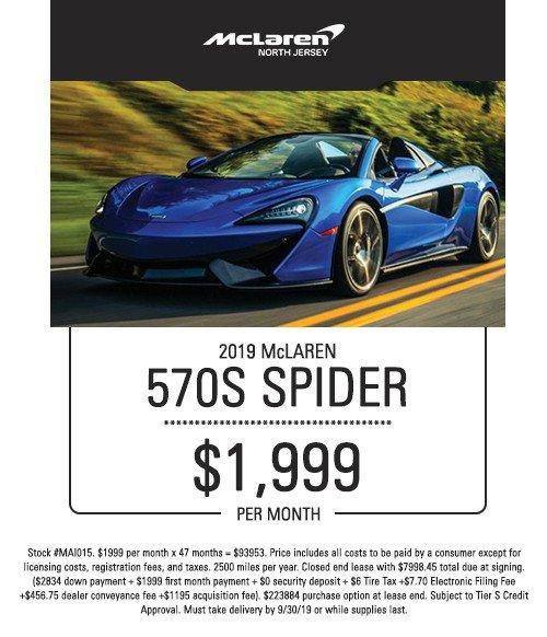 mclaren 570s spider special