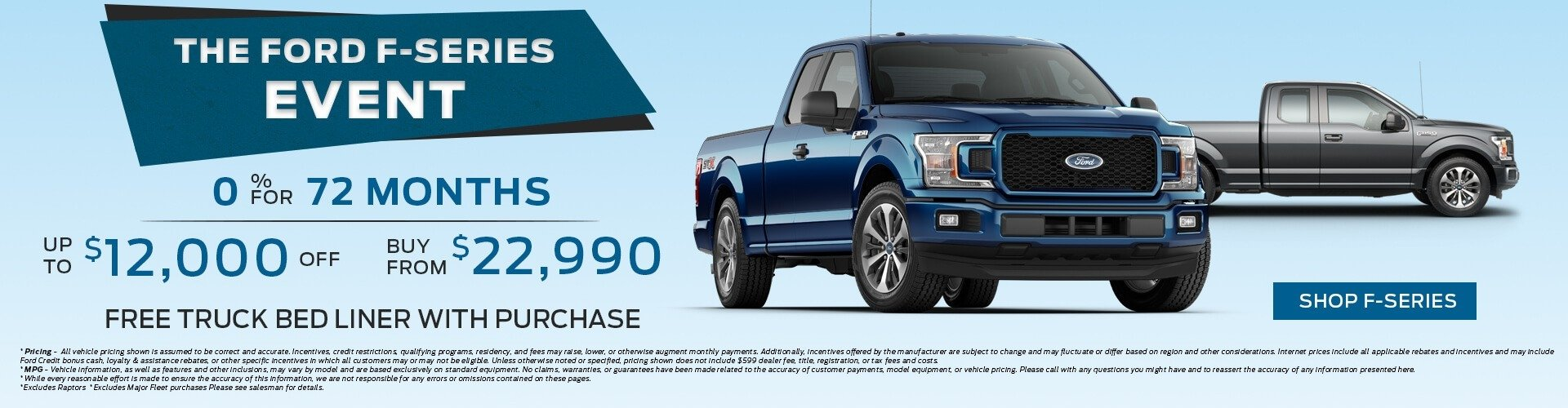 Ford F-Series Event