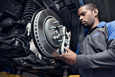 Get a $15 rebate by mail on any Motorcraft brake service
