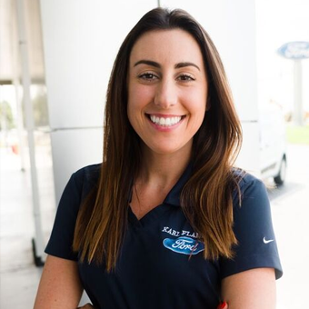 Customer Relations Representative Michelle Lusardi in Sales at Karl Flammer Ford