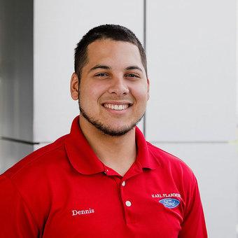 Sales Team Member Dennis Morales in Sales at Karl Flammer Ford