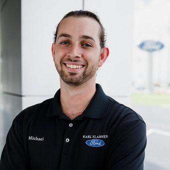 Parts Sales Michael Happ in Parts at Karl Flammer Ford