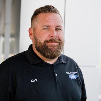 Inventory Control Manager Alex Vandervort in Sales at Karl Flammer Ford