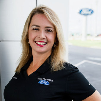 Manager Tammy Rucker in Sales at Karl Flammer Ford