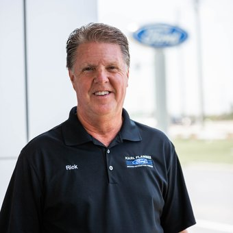 Vehicle Upgrade Specialist Rick Gibson in Sales at Karl Flammer Ford